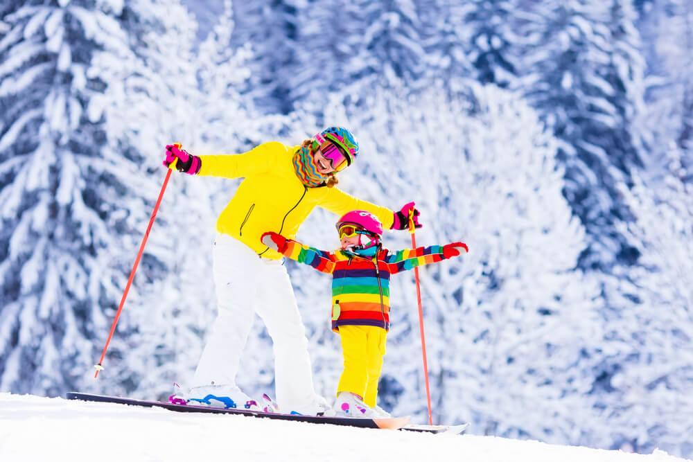 Детские зимние виды спорта