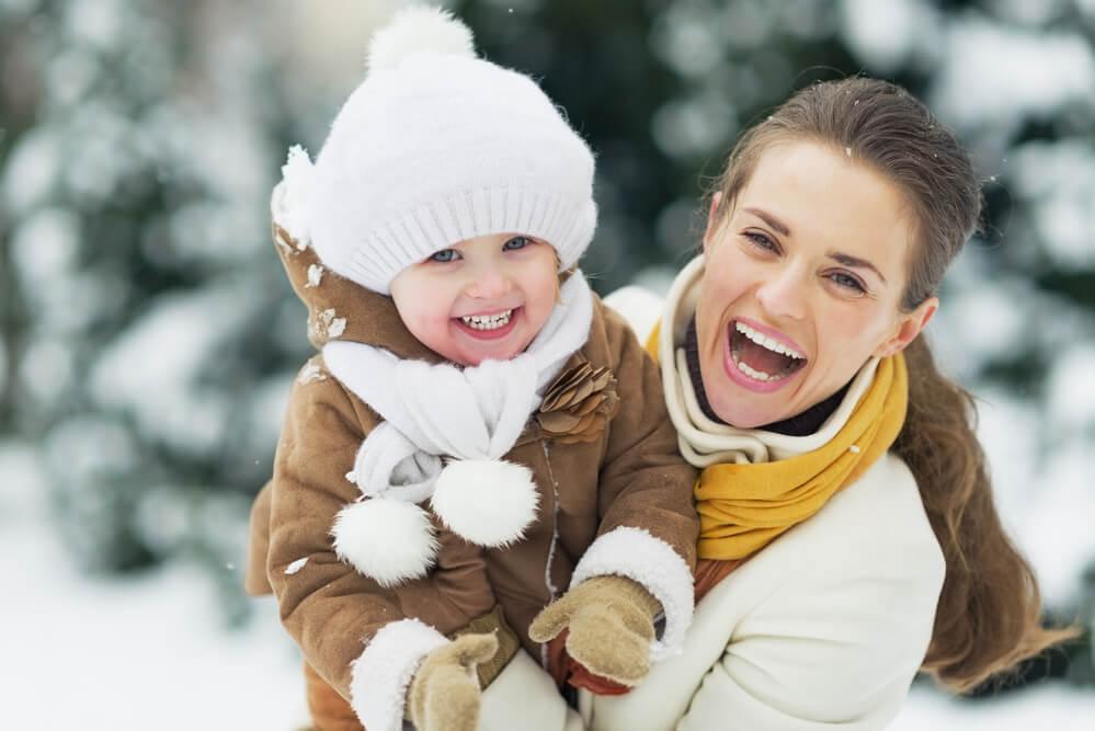 Сухая кожа у ребенка зимой